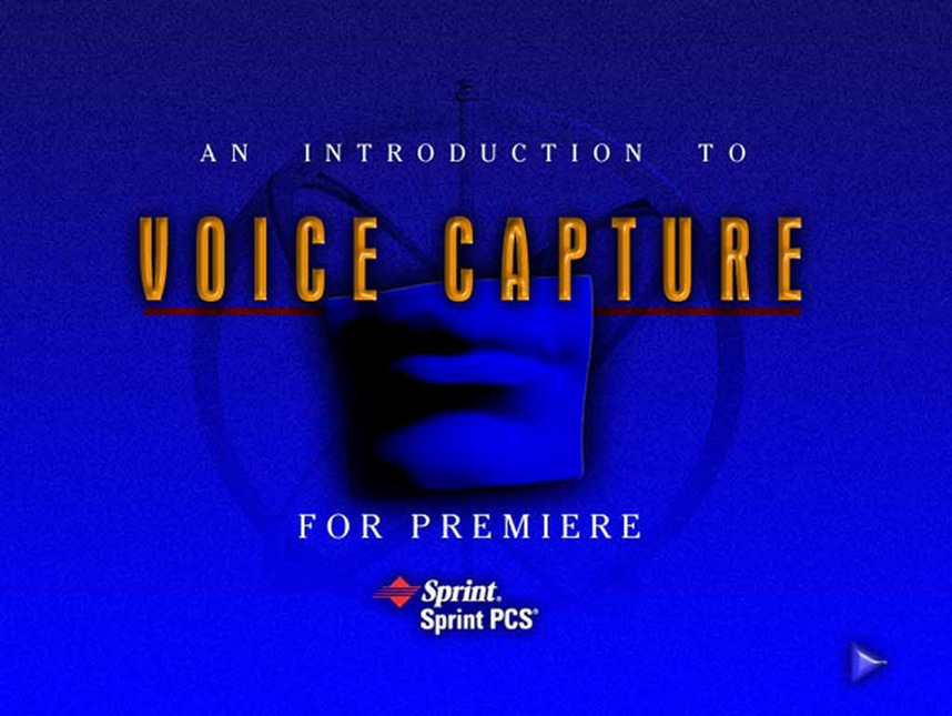 Sprint PCS voice capture